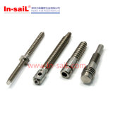Precision CNC Machining Threaded Rod with Hole