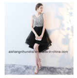 Beading Sleeveless Asymmetrical Homecoming Formal Party Gown