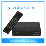 Zgemma Satellite TV Receiver Combo DVB S2 + DVB T2/C Support Hevc/H. 265