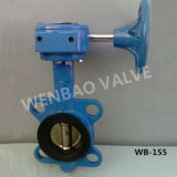Cast Steel Wafer Type Central Line Butterfly Valve