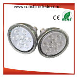Dimmable 9X2w Amber Color E27 PAR38 LED Spotlight