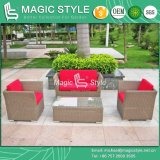 Synthetic Wicker Sofa Set Hotel Project Wicker Sofa Set Garden Sofa Set (Magic Style)