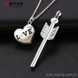 Fashion Xuping Silver Jewelry Alloy Heart-Shaped Pendant with CZ Love Key -- 30703