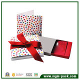 Colorful Square Wedding Paper Chocolate Gift Box with Ribbon