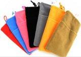 Custom Colorful Velvet Neck Pouch for Phone