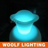 Light up LED Lighted Planter Flower Pots for Sale