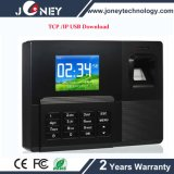 2.8 Inch TFT Screen Fingerprint Time Attendance TCP/IP, USB Download