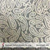 Paisley Cord Eyelash Lace Fabric (M2203-MG)