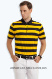 Gentle Mens Stripe Polo Shirt