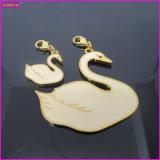 White Swan Metal Custom Charm (17233)