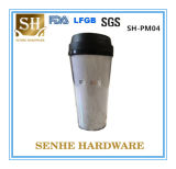2016 Hot Selling 16oz Reusable PP, Plastic Drinking Cup (SH-PM04)