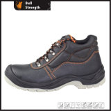 Basic Style Industrial Steel Toe Cap Safety Shoe (SN1631)