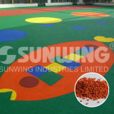 Beautiful EPDM Safety Rubber Granules