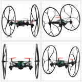141116V-RC Quadcopter with 0.3MP Camera 2.4G 4CH Remote Control Airphibian Model