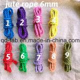 Jute Dyed Rope for Artwork Making (JDR-6mm)