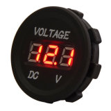 DC 12V LED Digital Display Voltmeter Waterproof for Boat Marine Vehicle