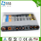 Flat Lift Travelling Elevator Cable with Steel Supporting