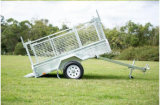 Fully Welded Chequer Plate Box Trailer/ Cage Trailer /Farm Uitlity Car Trailer /Dump Trailer