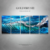 Ocean Landscape Hanging Metal Wall Art for Decoration