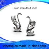 Swan-Shaped Zinc Alloy Knife Forks Shelf