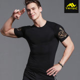 Fashion More Color Men′s Compression Shirt/Vest Sports Wear