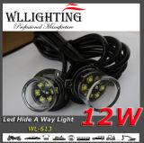 Auto Safety Traffic LED Light Hide-a-Way Warning Light Amber