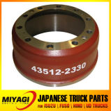 43512-2330 Brake Drum Truck Parts for Hino 700