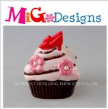 Wholesale Cream Cupcake Napkin Decor Ring Canister
