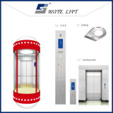 Panoramic Elevator Home Lift with Good Quality Glass Sightseeing