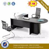 Modern Office Furniture L-Shape Melamine Office Desk (HX-6M419)