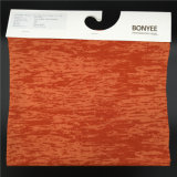 Cotton/Polyster Fabric Space Dyed Plush Cloth for Coat