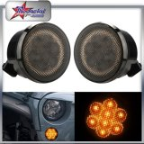 Front Grill LED Turning Signals Lights for Jeep Wrangler