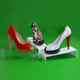 Acrylic Rack Shoe Display Stand Holder with Price Tag