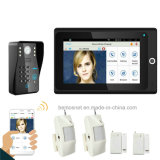 2.4G Wireless WiFi Home Security Video Doorbell Intercom System