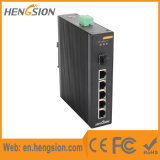 5 Megabit Tx and 1 Gigabit Fx Industrial Ethernet Switch