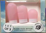 Japan/Us/EU Tsa Approved Food Grade Silicone Travel Bottles Set