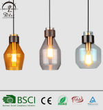 Decoration Indoor Lighting Modern Color Glass Pendant Lamps