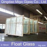 19mm Clear Float Glass with Size 2440*3660mm