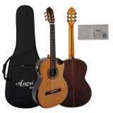 High-End Grade Solid Top Vintage Electrical Classical Guitars