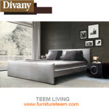 Modern Leather King Size Bed