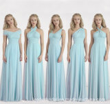 A-Line Bridesmaid Party Dress Chiffon Evening Prom Dress Z202