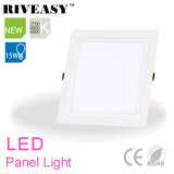 15W Square Acrylic LGP LED Panel with Big Radiator