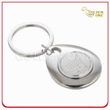 Personalized Gift Engrave Trolley Coin Key Ring