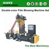 New design Eco-Friendly Double Color Plastic Film Blowing Machine