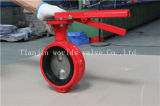 Lever Operated Ductile Cast Iron Rubber Seat Demco Butterfly Valve (D71X-10/16)