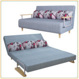 Intelligent Design Classic Sofa Bed with 2 Rubber Arms 190*150cm