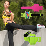 Hot Sale Fashion Ultrathin Lycra Sport Running Armband with Elastic Band