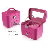 Elegant PU Leather Packaging Jewelry Box Jewellery Case