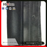 Black Color 32s Denim Jeans Fabric Stored Sale