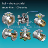 Stainless Steel Ball Valve with ISO5211 Direct Mounting Pad